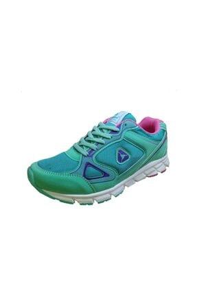 LETOON 4200 Su Yeşili Kadın Spor Ayakkabı 1