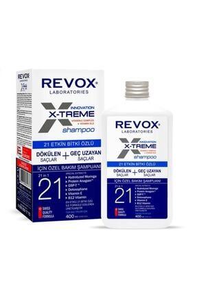 Revox E-xtreme Dökülen Ve Geç Uzayan Saçlar Için Şampuan 400ml 0