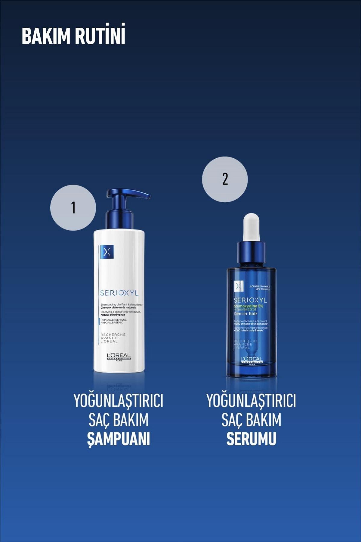 L'oreal Professionnel Serioxyl Denser Hair Yoğunluk Arttırıcı Serum 90 ml 3