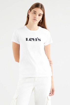 Levi's Kadın Beyaz T-Shirt 1