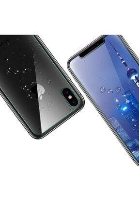 TeknoDuvar Iphone Xs Max Ön Ve Arka Kırılmaz Standart Koruyucu Temperli Cam 2