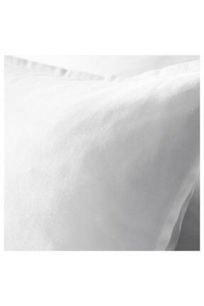 IKEA Beyaz Fermuarlı Yastık Kılıfı 1