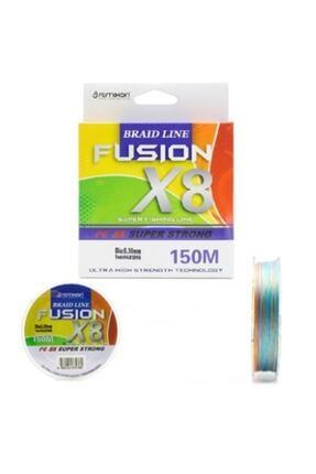Remixon Fusion 150m X8 Multicolor Ip Misina 0.16mm 0