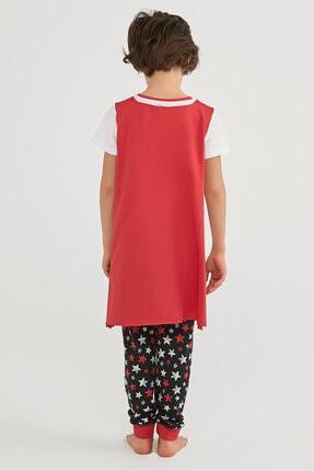 Penti Erkek Çocuk Çok Renkli Boys Stars Ss Pijama Takımı 2li 4