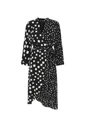 İpekyol Kadın Siyah Anvelop Elbsie 4