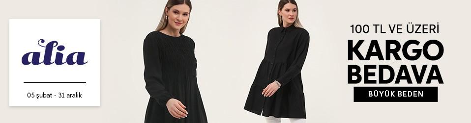 Alia & Büyük Beden - Kadın Tekstil