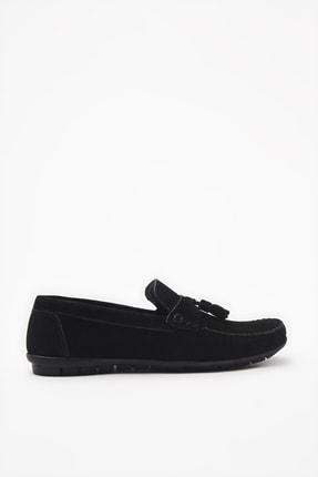 Hotiç Hakiki Deri Siyah Loafer Ayakkabı 02AYH206200A100 0