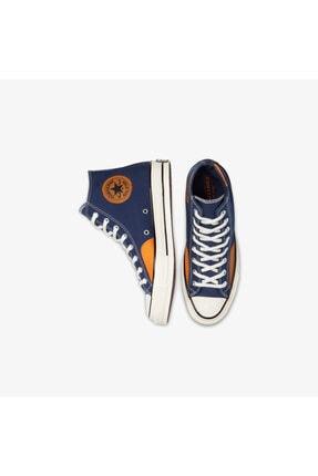 Converse Chuck 70 Ripstop And Canvas Hi Erkek Mavi Sneaker 3