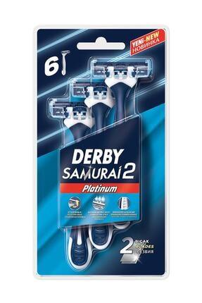 Derby Samurai Platinum 2 Blister 6'lı 0