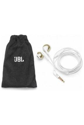 JBL T205 Beyaz Altın Kablolu Kulak İçi Kulaklık 4