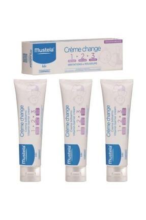 Mustela Vitamin Barrier 50 ml Pişik Önleyici Krem 3 Adet 0