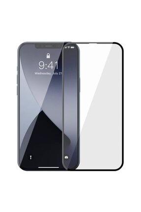 Baseus Iphone 12-12 Pro Uyumlu  6.1 0.3mm 3d Full Tempered Cam Ekran Koruyucu 2adet Set 1