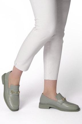 Marjin Races Kadın Loafer Ayakkabıyeşil 1