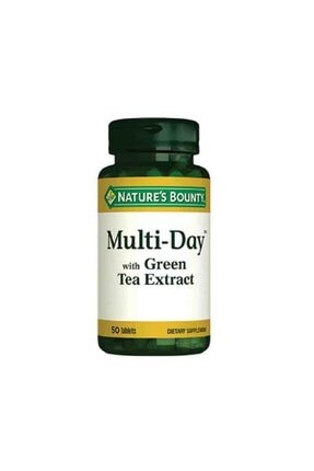 Natures Bounty Multi Day With Green Tea Extract 50 Tablet 0