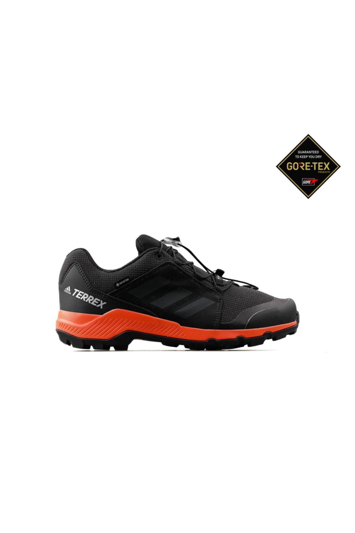 Genç Outdoor Ayakkabısı Bc0598 Siyah Terrex Gtx K