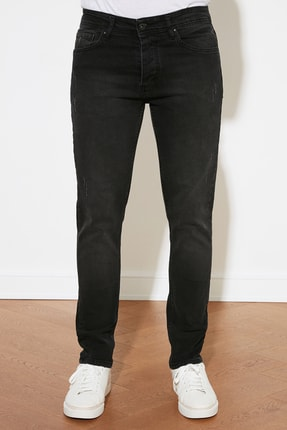 TRENDYOL MAN Siyah Erkek Skinny Jeans TMNAW20JE0405 2