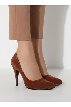 ayakkabıhavuzu Kadın Taba Topuklu Ayakkabı 2