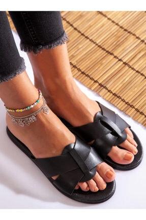 ayakkabıhavuzu Kadın Siyah Terlik 0
