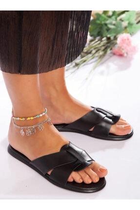 ayakkabıhavuzu Kadın Siyah Terlik 1