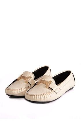 ayakkabıhavuzu Kadın Krem Günlük Ayakkabı 0