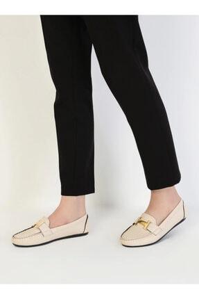 ayakkabıhavuzu Kadın Krem Günlük Ayakkabı 1