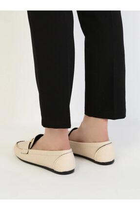 ayakkabıhavuzu Kadın Krem Günlük Ayakkabı 3