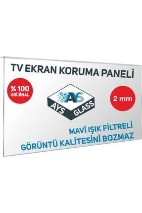 AYSGLASS 2mm 50'' Inch 127 Ekran Tv Uyumlu Ekran Koruyucu Tv Ekran Koruma Camı 3