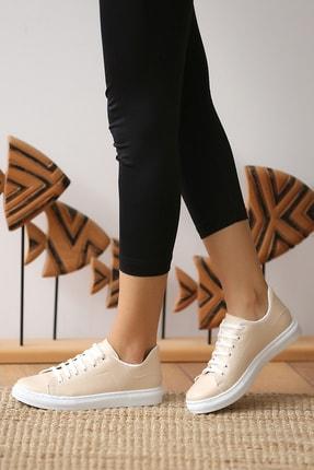 Pembe Potin Kadın Nut Casual Ayakkabı 1
