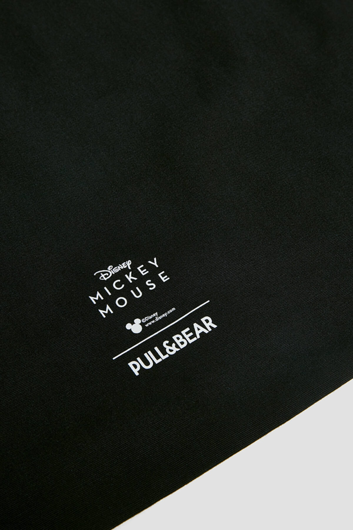 Pull & Bear Kadın Siyah Mickey Mouse Baskılı Tote Çanta 14115740 2