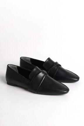 Marjin Dolinva Kadın Loafer Ayakkabısiyah 3