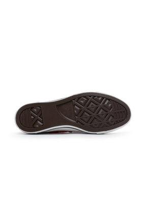 Converse Unisex Kırmızı Chuck Taylor All Star Sneaker 4