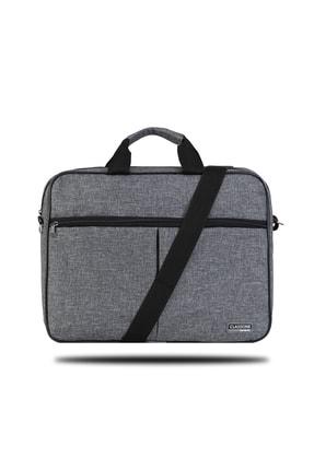 Classone Gri 15,6 inç Uyumlu Laptop Notebook El Çantası BND304 0