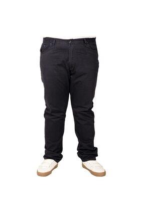 تصویر از Büyük Beden Erkek Keten Pantolon 5 Cep 21003 Lacivert