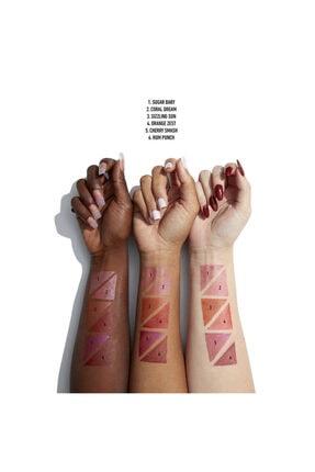 NYX Professional Makeup Işıltılı Allık - Bare With Me Jelly Cheek Color 04 Orange Zest 2