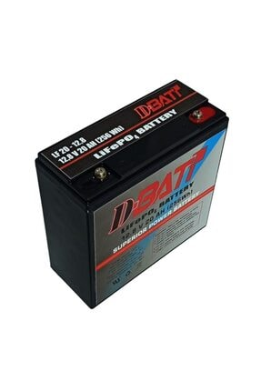 Dbatt 12v 20ah Lifepo4 Lityum Akü D-batt 0