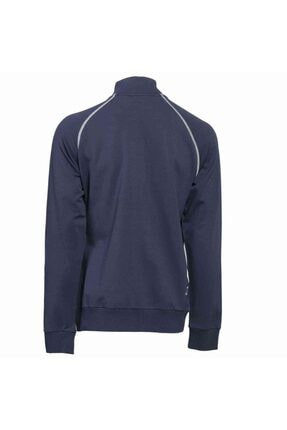 HUMMEL Erkek Lacivert Fermuarlı Sweatshirt 2