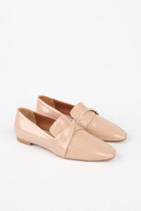 Marjin Kadın Bej Rugan Loafer Ayakkabı Rezva 0