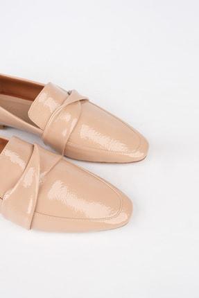 Marjin Kadın Bej Rugan Loafer Ayakkabı Rezva 3