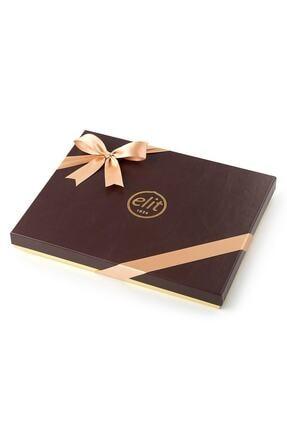Elit Çikolata Karışık Spesiyal Çikolata Deri Grenli Kutu 568gr 1