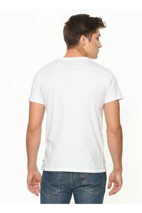 Levi's Erkek Beyaz Graphic T-shirt 17783-0140 2