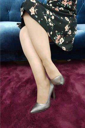 TREND Kadın Platin Topuklu Ayakkabı Ox04 1