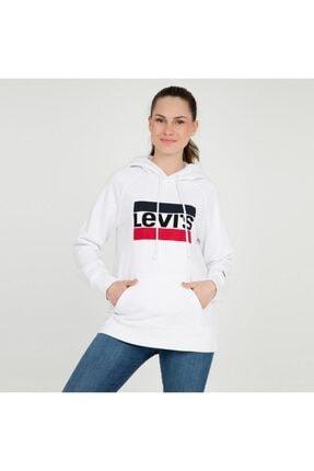 Levi's Kadın Beyaz Sweatshirt 35946-0001 0
