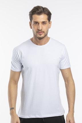 Slazenger Sannı Erkek T-shirt Beyaz St11te122 4