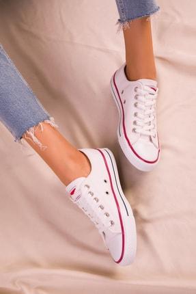 Soho Exclusive Beyaz Kadın Sneaker 15866 2