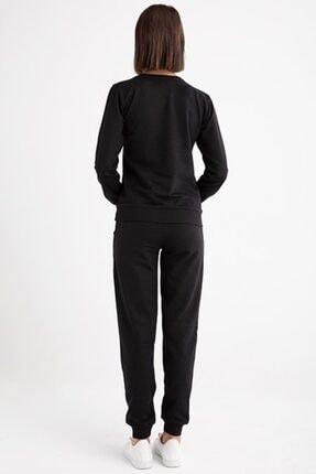 Moschino Kadın Siyah Kabartma Ayıcık Eşofman Takımı 1
