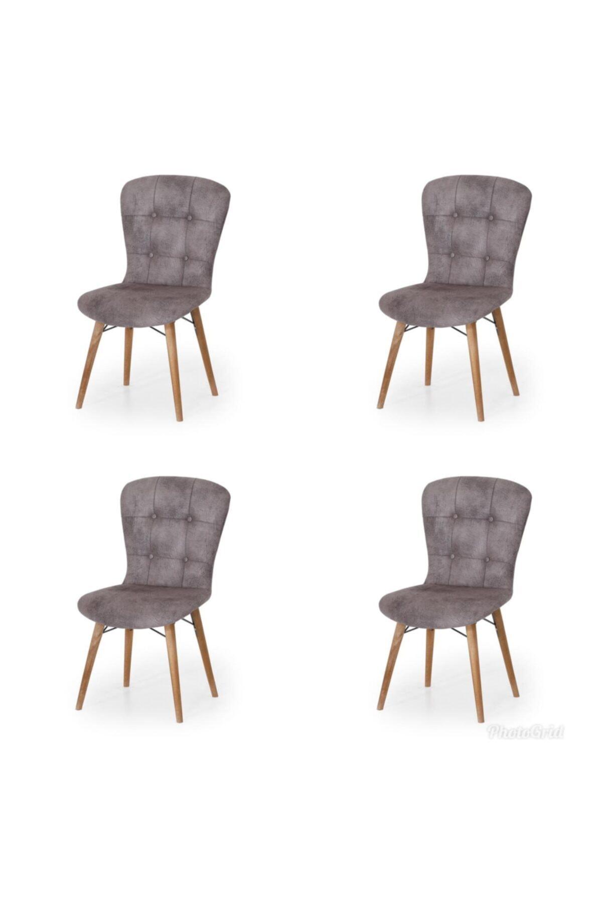 4 Adet Incebelli Sandalye