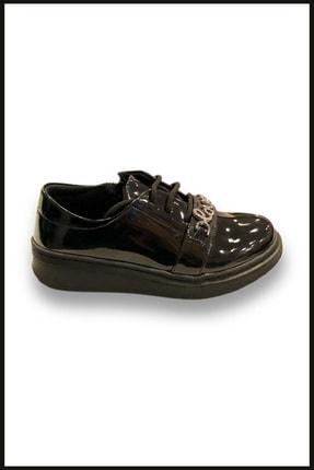 Vicco Love Fermuarlı Rugan Ayakkabı Siyah 969.v.513 0