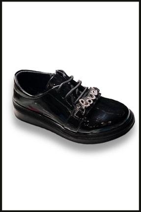 Vicco Love Fermuarlı Rugan Ayakkabı Siyah 969.v.513 3