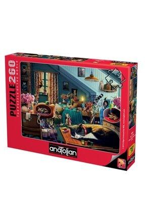 Anatolian Puzzle Oyun Odası Kitten Play Bedroom 260 Parça 0