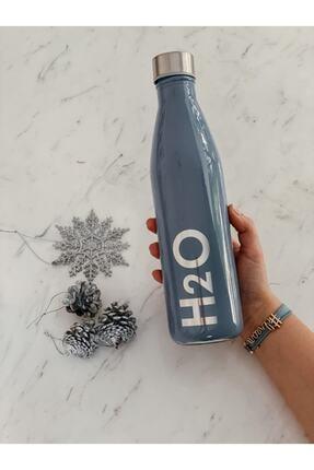 Mutluyum Çünkü Su Şişesi / Mavi 0